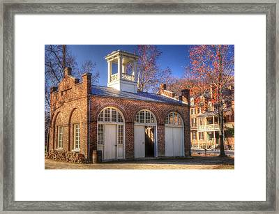 John Browns Fort - Harpers Ferry West Virginia - Modern Day Autumn Framed Print by Michael Mazaika