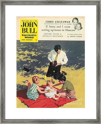 John Bull 1950s Uk Babies Cameras Framed Print by The Advertising Archives