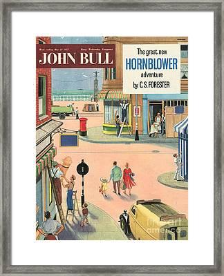 John Bull 1950s Uk Holidays Handymen Framed Print by The Advertising Archives