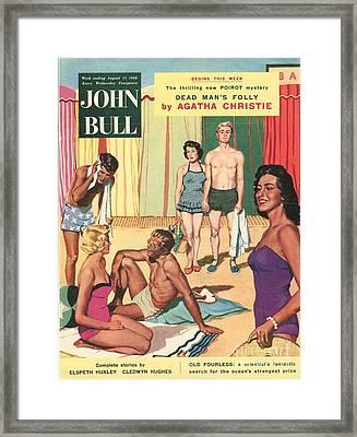 John Bull 1950s Uk Holidays Suntans Framed Print by The Advertising Archives
