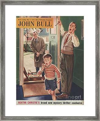 John Bull 1952 1950s Uk Travelling Framed Print by The Advertising Archives