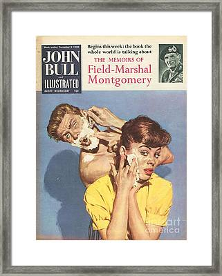John Bull 1958 1950s Uk Bathrooms Framed Print