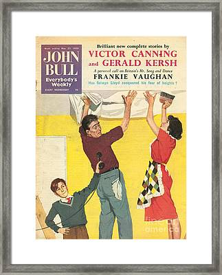 John Bull 1959 1950s Uk Decorating Diy Framed Print by The Advertising Archives