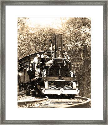 Framed Print featuring the photograph John Bull by Mike Flynn