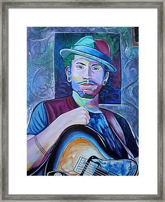John Butler Framed Print by Joshua Morton