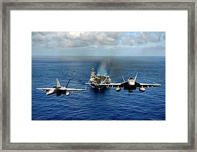 John C. Stennis Carrier Strike Group Framed Print
