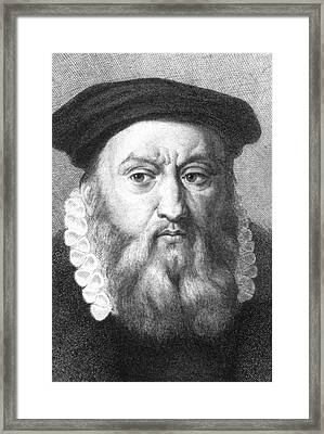 John Calvin Framed Print by Collection Abecasis