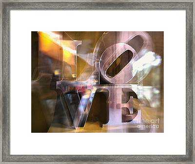 Framed Print featuring the photograph John Chapter 13 Verse 34 by John S