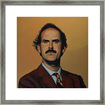 John Cleese Framed Print by Paul Meijering