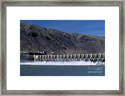 John Day Dam Framed Print by William H. Mullins