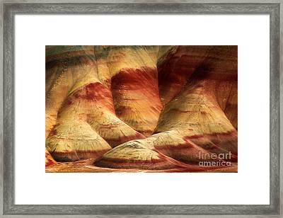 John Day Martian Landscape Framed Print by Inge Johnsson