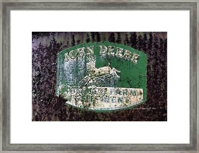 John Deere 2 Framed Print