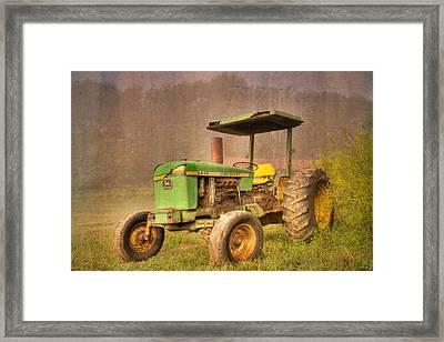 John Deere 2440 Framed Print by Debra and Dave Vanderlaan