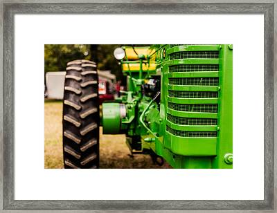 John Deere Model G Framed Print by Jon Woodhams