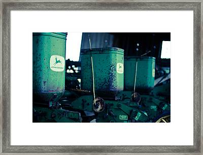John Deere Framed Print by Off The Beaten Path Photography - Andrew Alexander