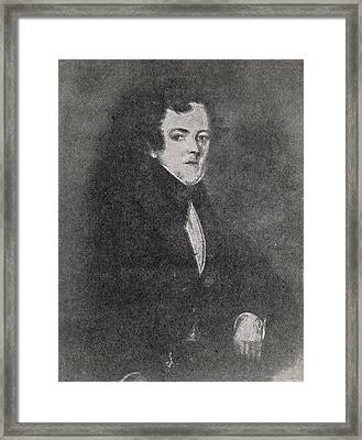 John Dickens  Father Of Charles Framed Print by Mary Evans Picture Library
