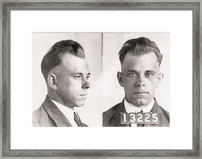 John Dillinger Framed Print