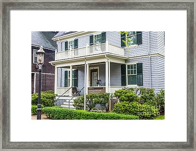 John Fitzgerald Kennedy Birthplace Framed Print by Susan Cole Kelly