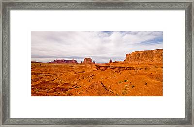 John Ford's Point Framed Print by Peter Tellone