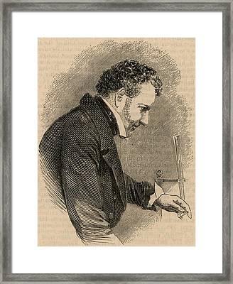 John Frederic Daniell Framed Print