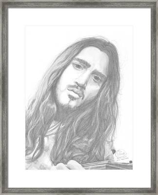 John Frusciante Framed Print