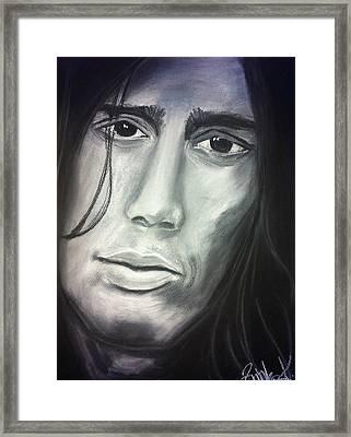 John Frusciante Framed Print by Zrinka Kovacevic