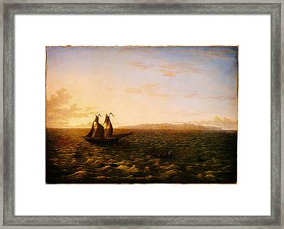John Glover The Island Of Madeira Google Art Project Framed Print by MotionAge Designs
