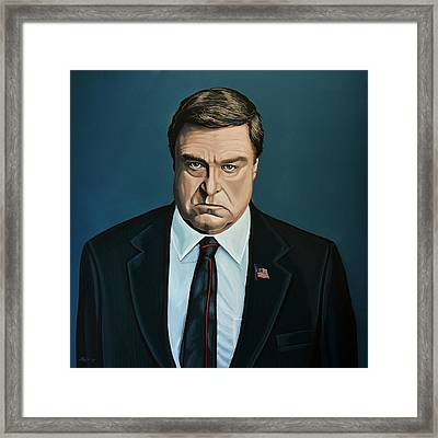 John Goodman Framed Print