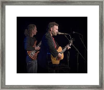 John Gorka And Michael Manring In Concert Framed Print