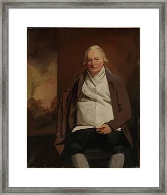 John Gray 1731-1811 Of Newholm Framed Print by Sir Henry Raeburn