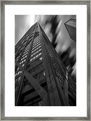 John Hancock Building 73a7300 Framed Print