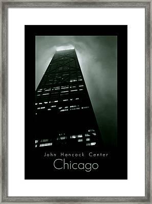 John Hancock Center Framed Print