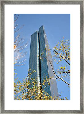 Framed Print featuring the photograph John Hancock Tower  by Amanda Vouglas