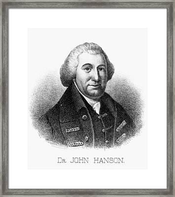 John Hanson (1721-1783) Framed Print by Granger