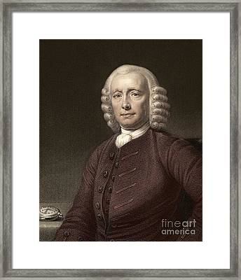 John Harrison, English Clockmaker Framed Print