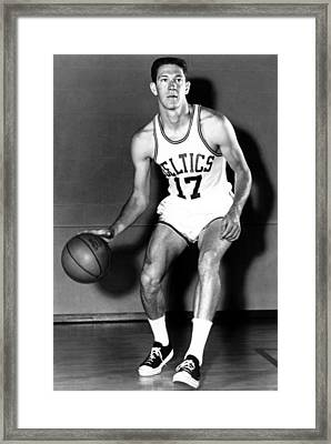 John Havlicek Of The Boston Celtics 1960s Framed Print by Mountain Dreams