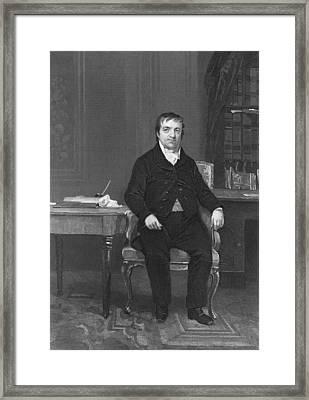 John Jacob Astor Framed Print by Underwood Archives