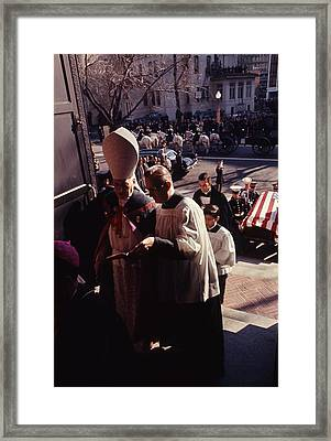 John F. Kennedy Funeral Framed Print by Retro Images Archive