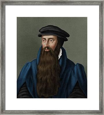 John Knox Framed Print by Maria Platt-evans