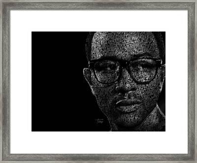 John Legend Framed Print by Justo Terez Jr