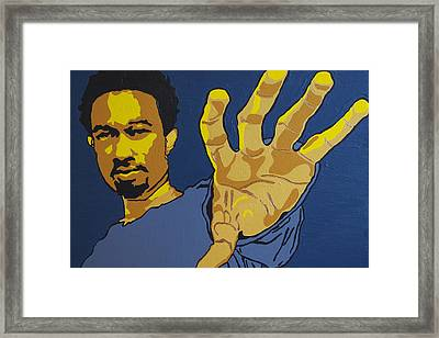 John Legend Framed Print