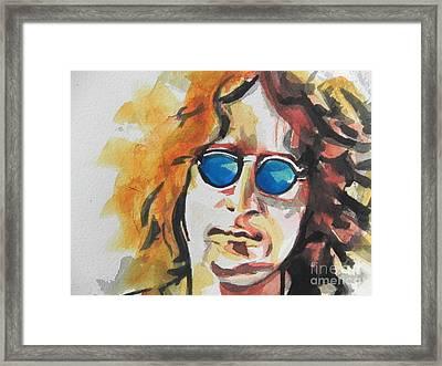 John Lennon 03 Framed Print