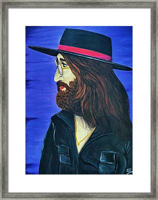 John Lennon  Tittenhurst Park Framed Print
