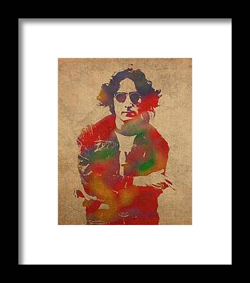 John Lennon Framed Prints