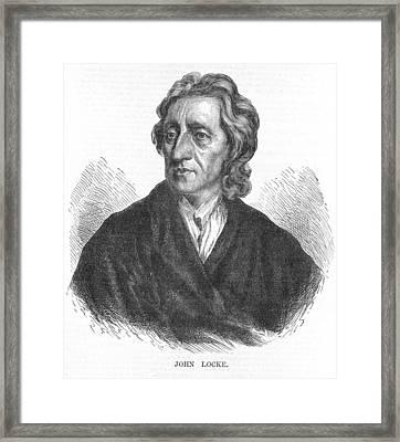 John Locke, English Philosopher Framed Print by Science Photo Library