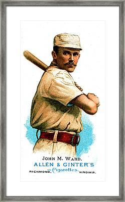 John M Ward Framed Print by Unknown