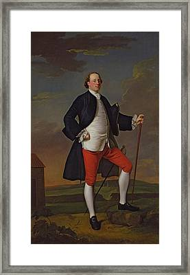 John Manners, Marquess Of Granby, 1745 Framed Print