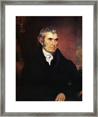 John Marshall (1755-1835) Framed Print by Granger