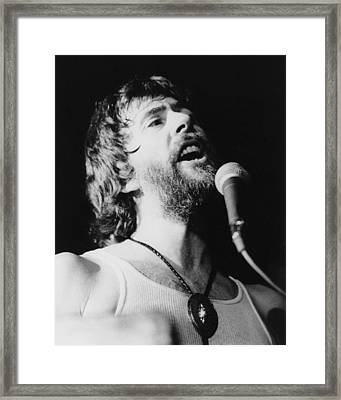 John Mayall Framed Print by Jurgen Lorenzen