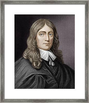 John Milton (1608-1674) Framed Print by Science Photo Library